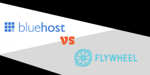 bluehost vs flywheel