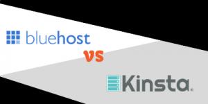 bluehost vs kinsta
