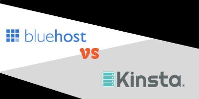 bluehost vs kinsta
