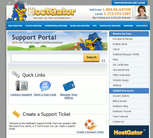 hostgator support review
