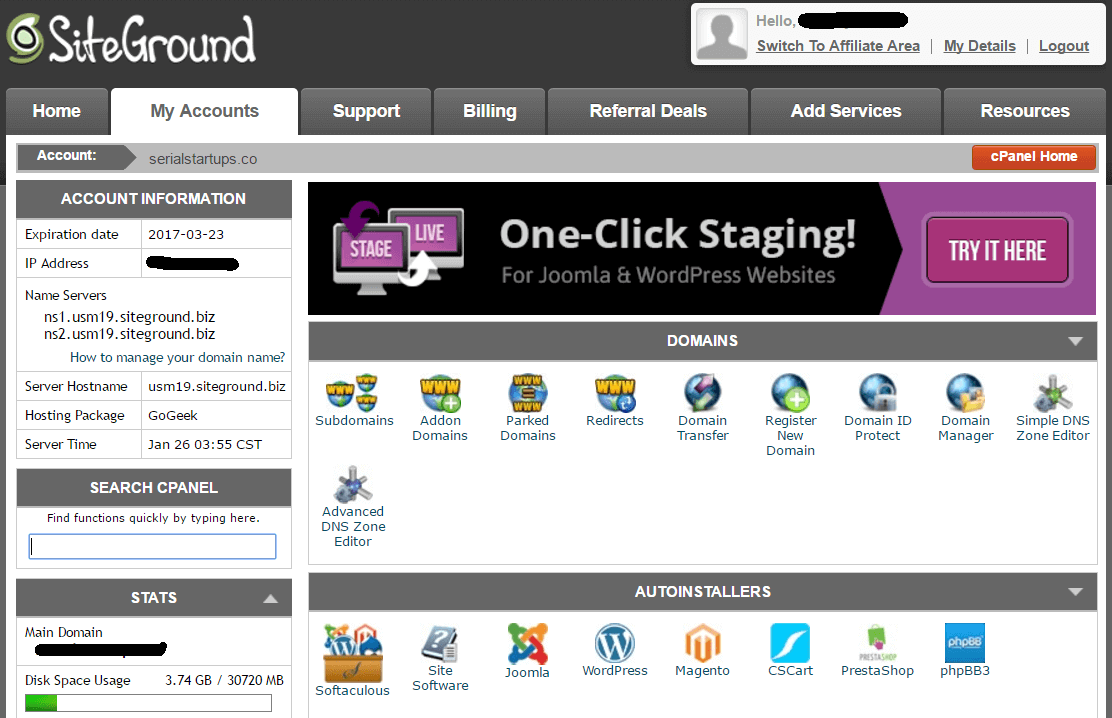 siteground hosting comparison