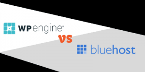 wp engine vs bluehost